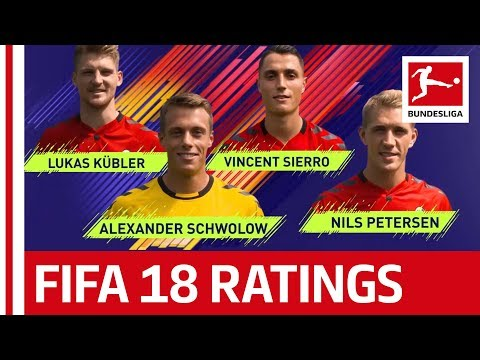 EA SPORTS FIFA 18 - SC Freiburg Players Rate Each Other