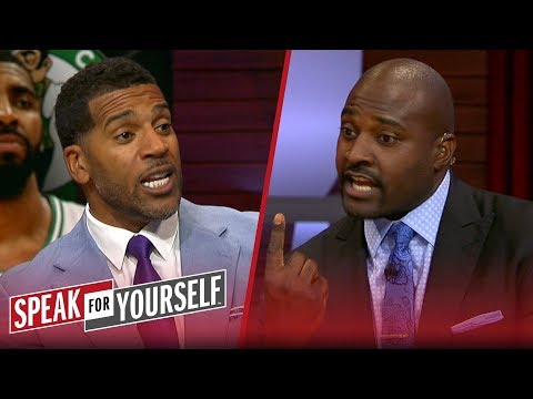 Jim Jackson and Marcellus Wiley react to Kyrie\'s comments about Murray | NBA | SPEAK FOR YOURSELF