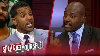 Jim Jackson and Marcellus Wiley react to Kyrie