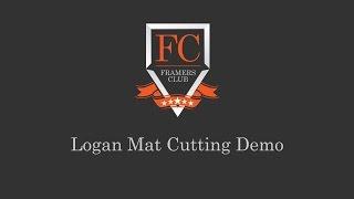 Logan Graphic 350 Elite Mat Cutter Bevel Cutting