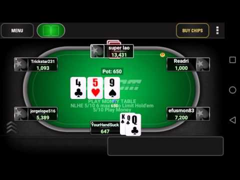Видео Pokerstars 7 android
