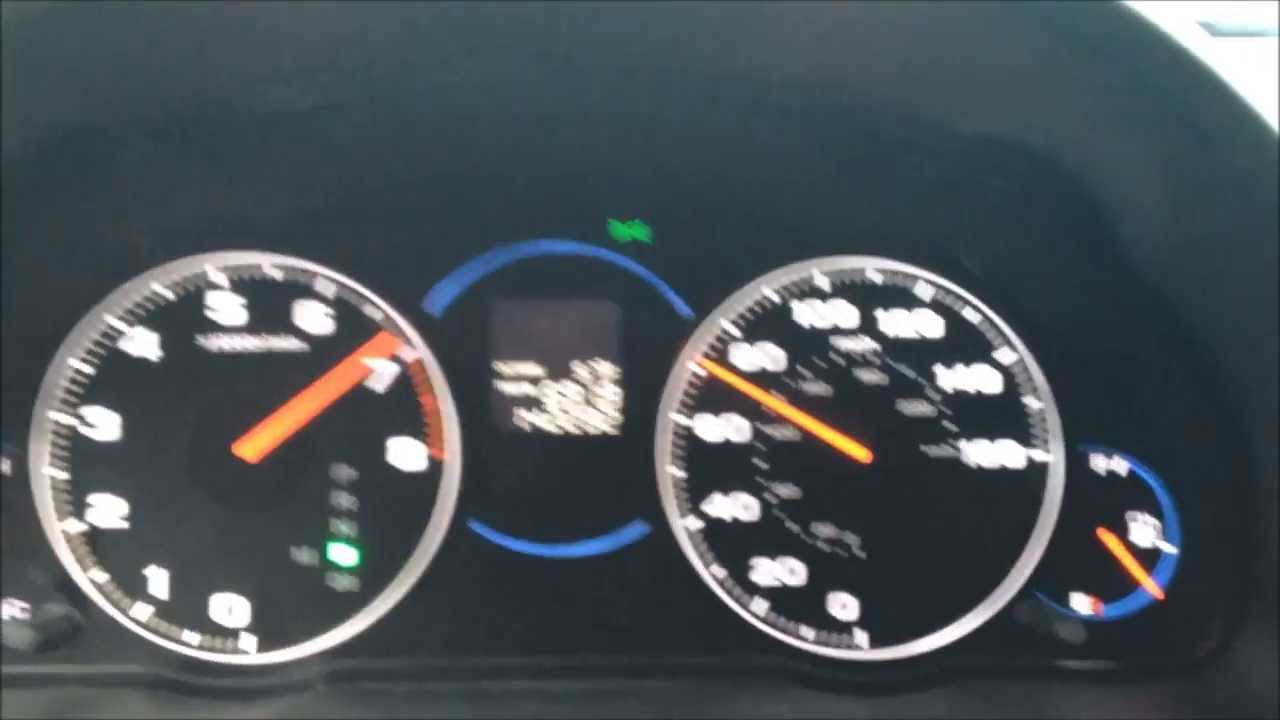2005 Acura TSX 5AT 0-60 acceleration - YouTube