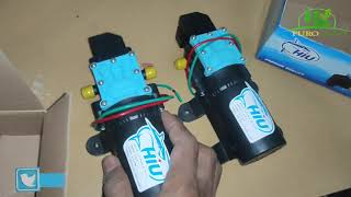 Dinamo Pompa Sprayer HIU Pompa Elektrik 12V 5A 5LPM 100 PSI Premium Quality