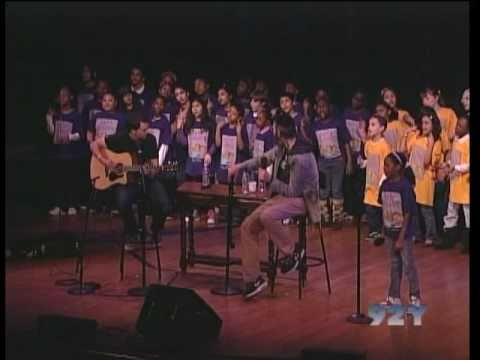 """ONE DAY"" Matisyahu, DP Dave Holmes & PS22 Chorus at 92nd Street Y (PRO SHOT!!)"