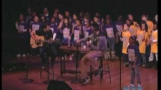 """ONE DAY"" Matisyahu, DP Dave Holmes & PS22 Chorus at 92nd Street Y (PRO SHOT!!)"