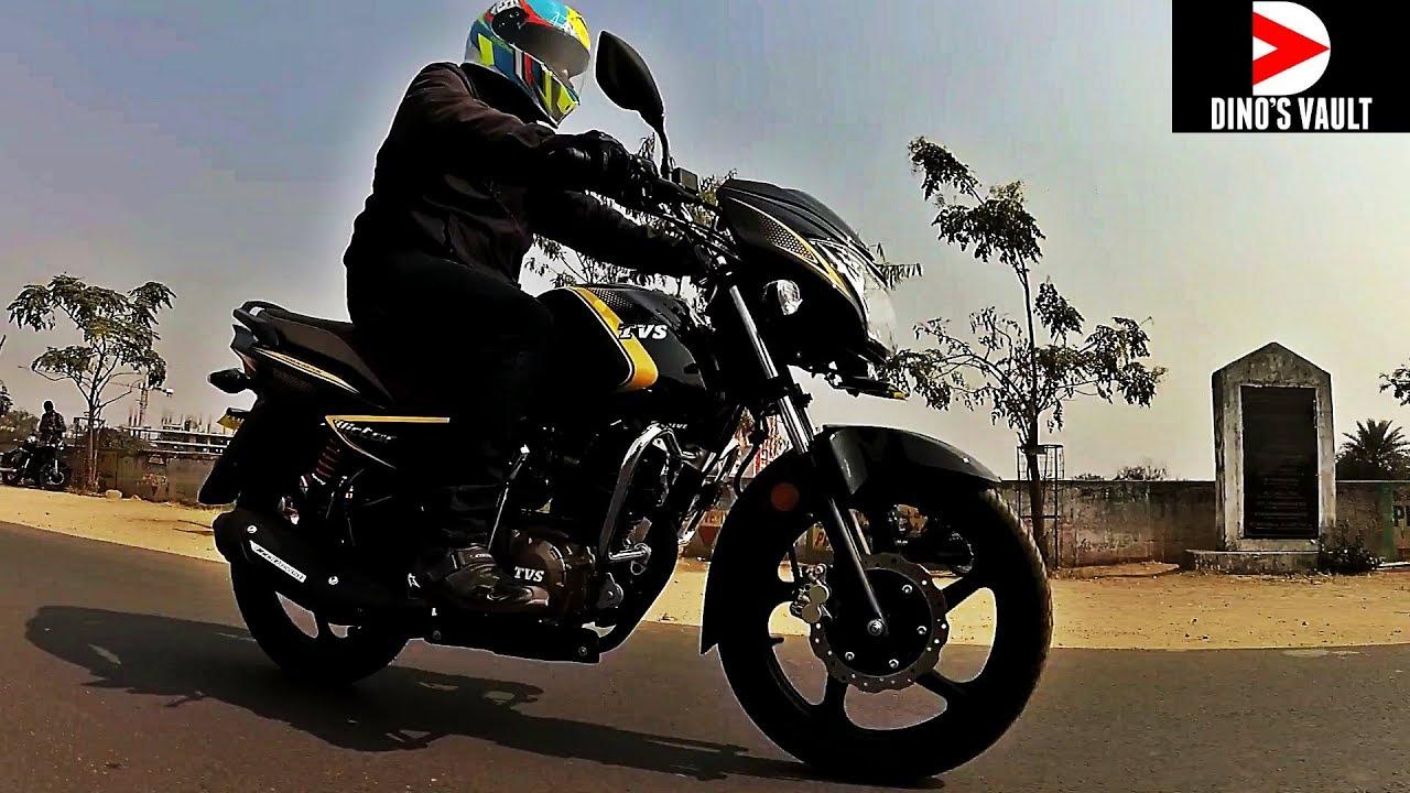 Tvs Victor Premium Edition Hindi Review Bikes Dinos Youtube