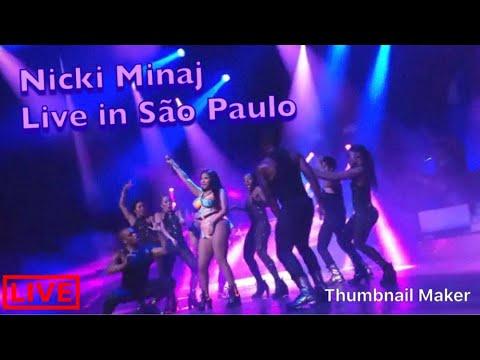 NICKI MINAJ AT TIDAL (LIVE IN BRAZIL SÃO PAULO )  HD !