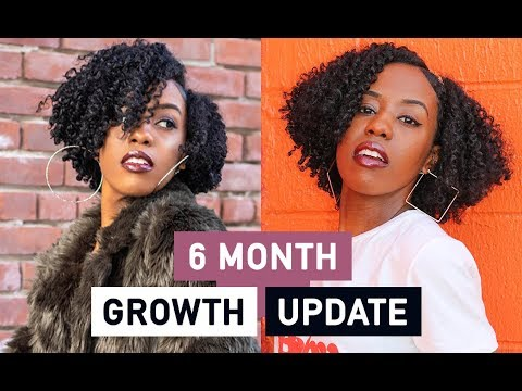 6 Month Hair GROWTH Update WITH PICTURES + GIVEAWAY