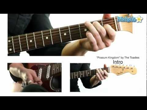 """How to Play """"Possum Kingdom"""" by The Toadies on Guitar"""