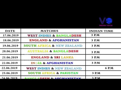 Pick the world cup 2020 fixture dates pdf ist