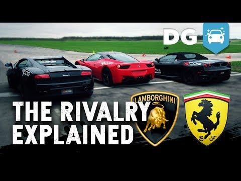 Lamborghini Ferrari Feud History Explained - SuperCar Test Drive