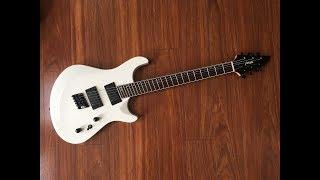 Baixar UNBIASED GEAR REVIEW - Haze 6 WHT Fanned Fret 6-string Guitar - CHEAPEST FANNED FRET ON EBAY
