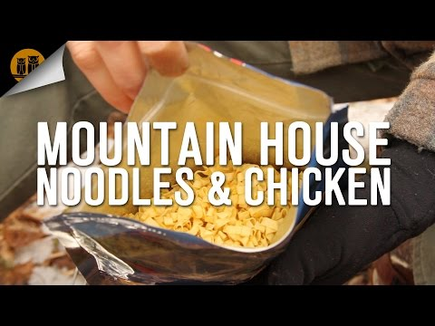 Mountain House Noodles & Chicken | Backpacking Food | Field Review