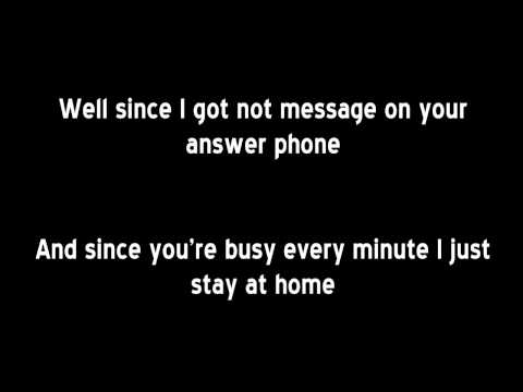 Bee Gees - Alone (lyrics)