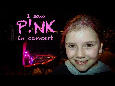 I went to the Pink Concert, Melbourne 2018