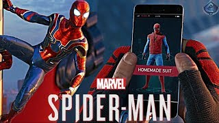 Spider-Man PS4 - IRON SPIDER AND HOMECOMING HOMEMADE SUIT REVEALED!