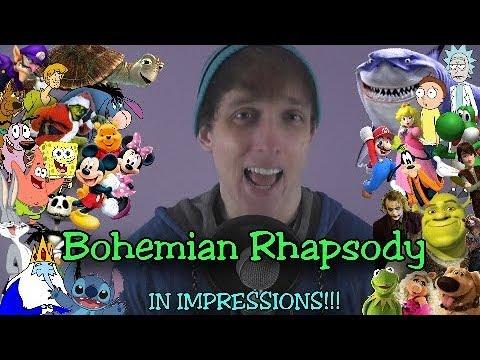 Bohemian Rhapsody In Impressions!! (Queen Cover)