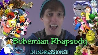 Bohemian Rhapsody in Impressions!! (Queen Cover)