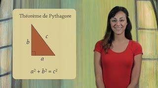 Le théorème de Pythagore - démonstration  (Géométrie)