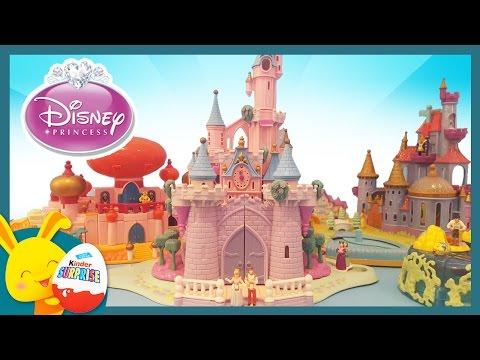Princesses Disney - 1h Jouets et histoires Polly Pocket pour les enfants - Touni Toys