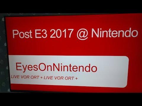 Hands-on: Post E3/2017 Event, Nintendo of Europe, Frankfurt! - Eyes on Nintendo Podcast #108