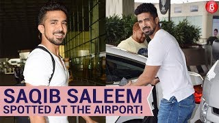 Saqib Saleem Spotted At The Airport, Sports A Casual Look!