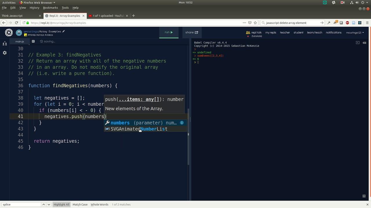Think Javascript