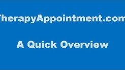 A Quick Overview of TherapyAppointment com