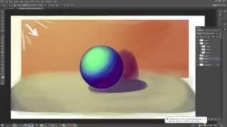 Мини-урок из cтрима №8 - цветные тени