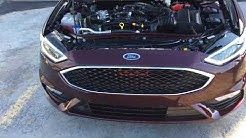 Vellossa Tech Big Mouth Installed – 2017 Ford Fusion Sport