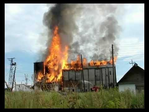 видео пожары на элеваторе