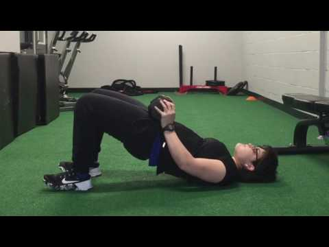 Dumbbell Glute Bridge Muscles Worked Exercise Demo And Benefits