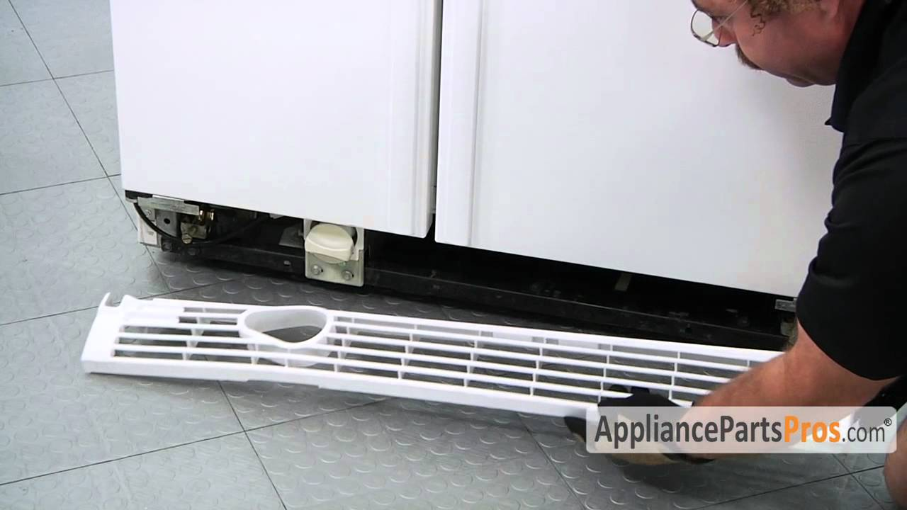 Refrigerator Kickplate Grille How To Replace Youtube