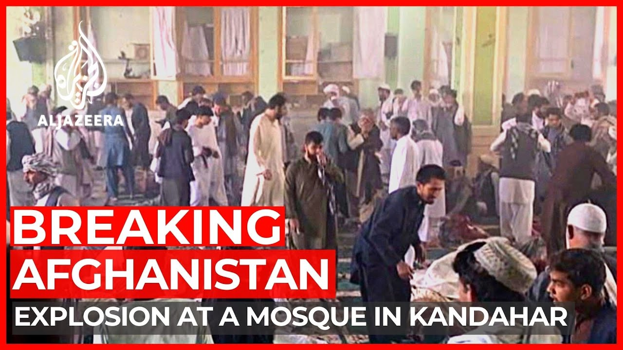 Download Explosion hits Shia mosque in Afghanistan's Kandahar