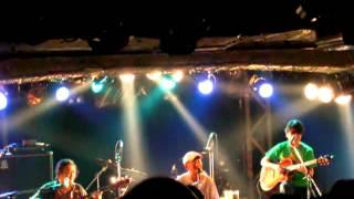 憂歌団 ×3/4 新宿ロフトでのライブ。2010年12月2日.