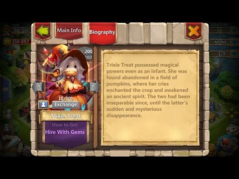 Castle Clash | Update 1.2.99 | Hero Trixie Treat, Pet Function, Hero Soulstones