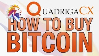 How to Buy Bitcoin in Canada - Step by Step for beginners - Quadriga CX