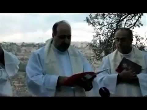 Bethlehem Christians Protest Zionist Military Occupation Of Holy City