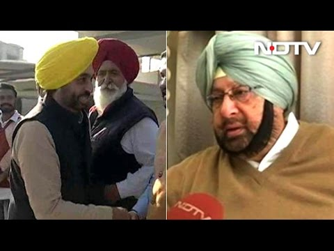 On The Campaign Trail With Congress' Amarinder Singh, AAP's Bhagwant Mann