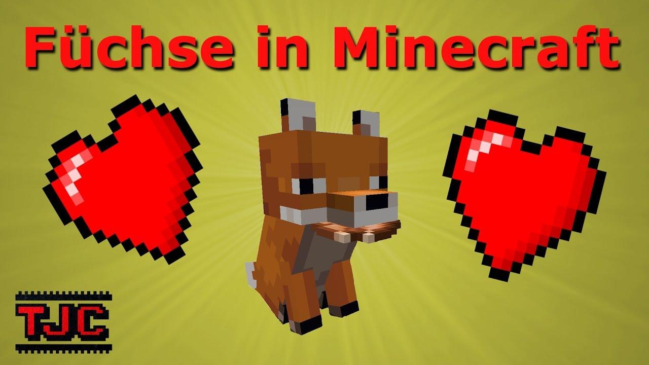 wie zähmt man in minecraft füchse