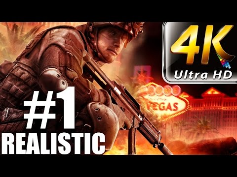 Rainbow Six Vegas - Realistic Walkthrough - (PC-4K) Part 1 - Mexico 1/2