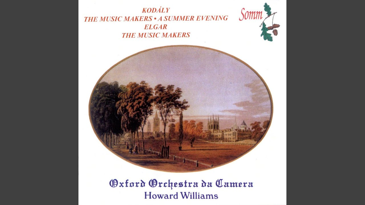 The Music Makers Op 69 Vi They Had No Vision Amazing Youtube