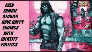 Identity Politics Destroy A Marvel Zombie Comic Book
