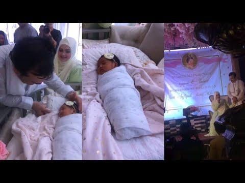 Datuk Siti Nurhaliza umum nama anaknya Siti Aafiyah