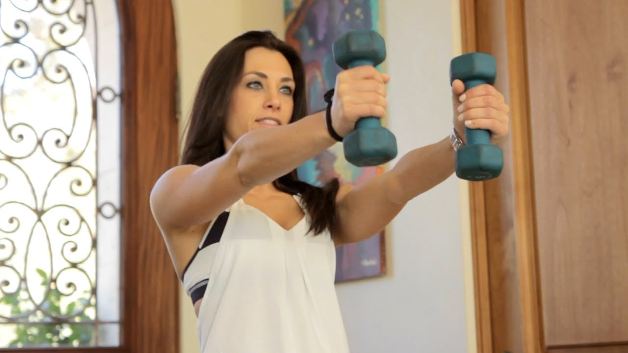 Workout With Dumbbells - Workout Wednesday With Modernmom -5323
