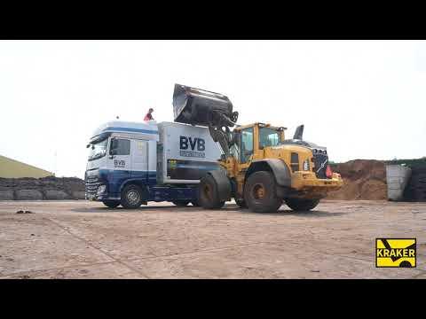 Kraker Trailers Peat Transportation part 1