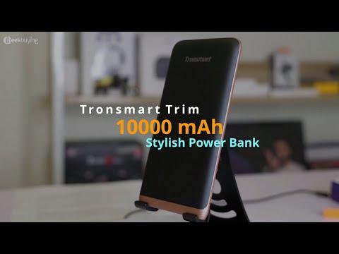 Tronsmart Trim - 10000 MAh Stylish Power Bank