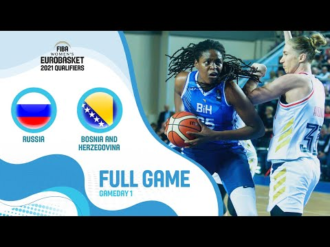 Russia V Bosnia And Herzegovina - Full Game - FIBA Women's EuroBasket 2021 Qualifiers