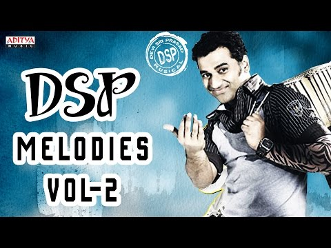 Vol 2 - Devi Sri Prasad Best Love Melodies Collection With Lyrics - Back to Back Songs