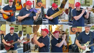 SO MANY INSTRUMENTS! Look What I Found Online Auction Preview